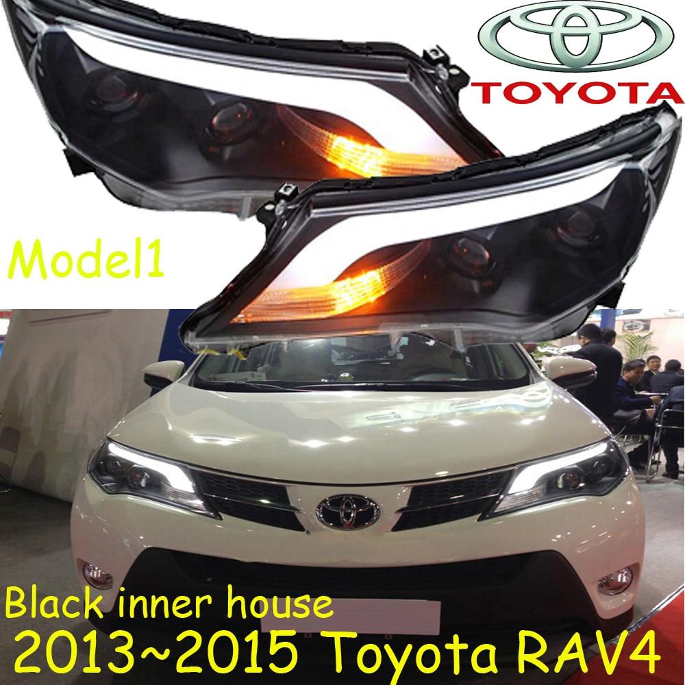 RAV4 headlight,2013~2016,SUV,Free ship! RAV4 fog light,RAV4 Offroad light,2ps/set+2pcs Ballast,rav4 driver light,RAV 4 rav 4 3 door