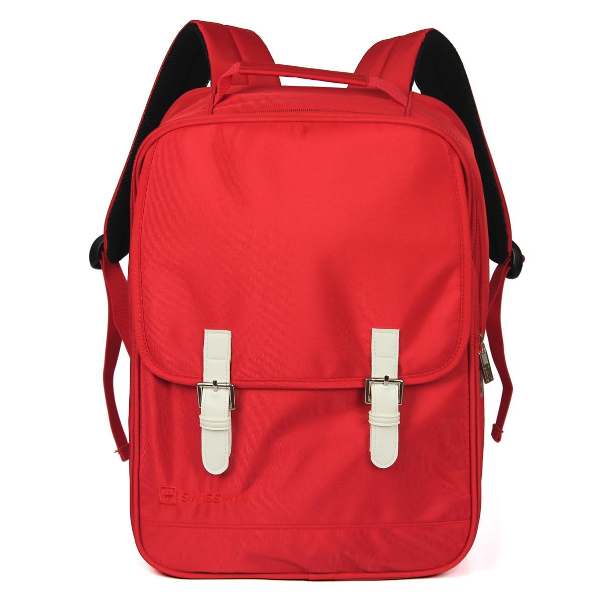 High Quality Swisswin Backpack For Student Fashion Men Women Large Capacity Rucksack 14 Laptop Backpack Mochila Escolar SWK2004