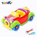 2016 Hot Sale Christmas Gift Kids Baby Boys Girls Disassembly Assembly Classic Car Toys Tops