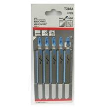 5pcs Set HSS Jigsaw Blades T318A for Bosch Hitachi Dewalt Skil Metal Cutting