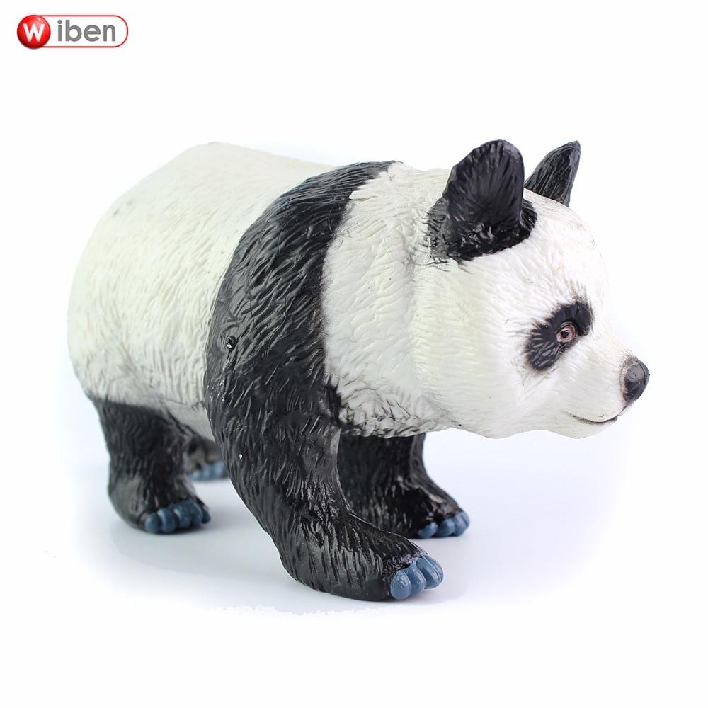 Wiben Panda Simulation Animal Model Action & Toy Figures High ...