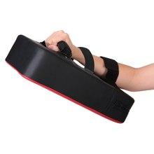 Прочный ПУ кожаный тхэквондо MMA боксерский пинающийся пробивая коврик учебное оборудование Sanda/Fighting/Muay Thai груша для ног