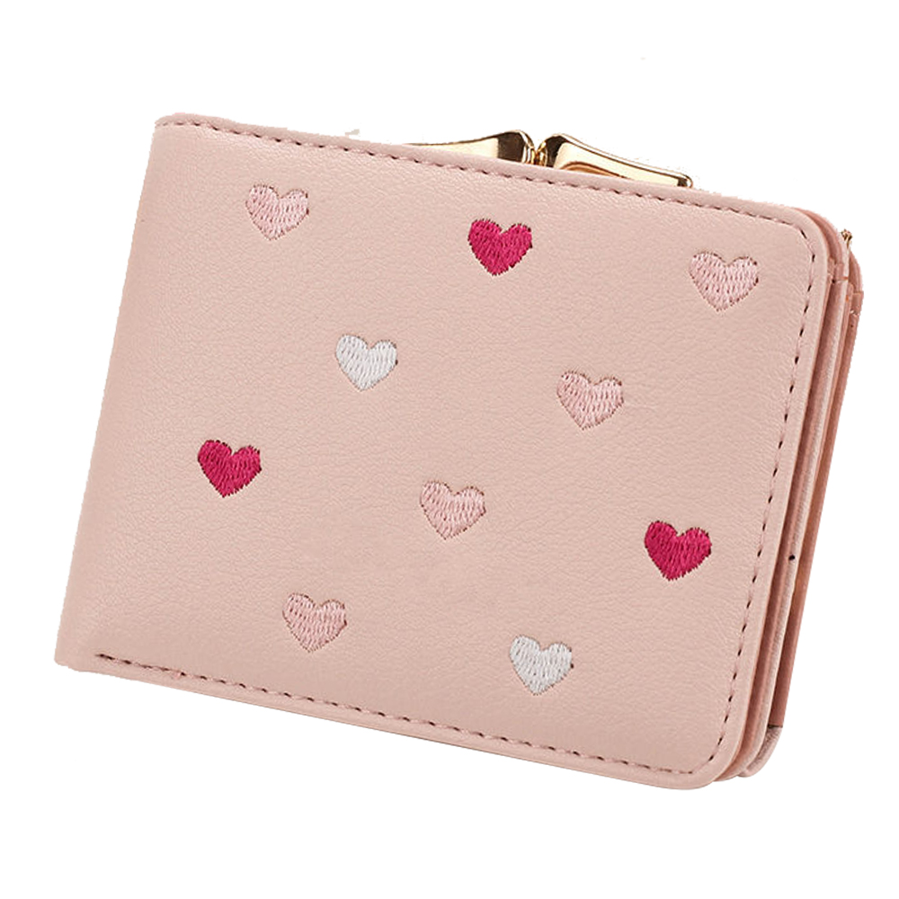Wallets PU Leather Ladies Zipper Coin Purse Fashion Card Holders  Female Small Wallets Women Tassel Pendant Short Money wallet wallet female famous brand long zipper women s wallets pu leather big dollar money bag lady purse with card coin pocket 500503