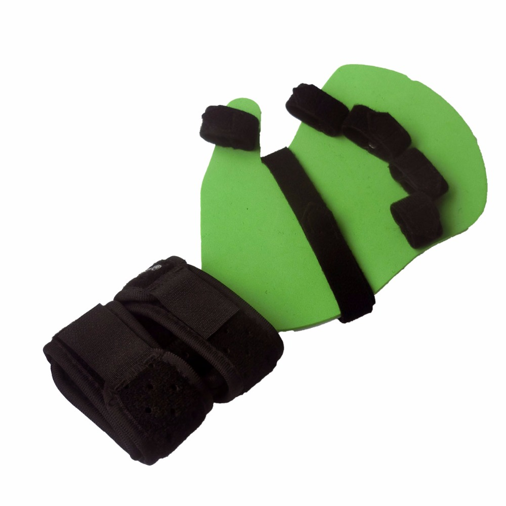 New Separate Fingers Slint Hand Orthosis Brace Extension Fixed Calmp Fracture Sprain Recovery Posture Corrector For