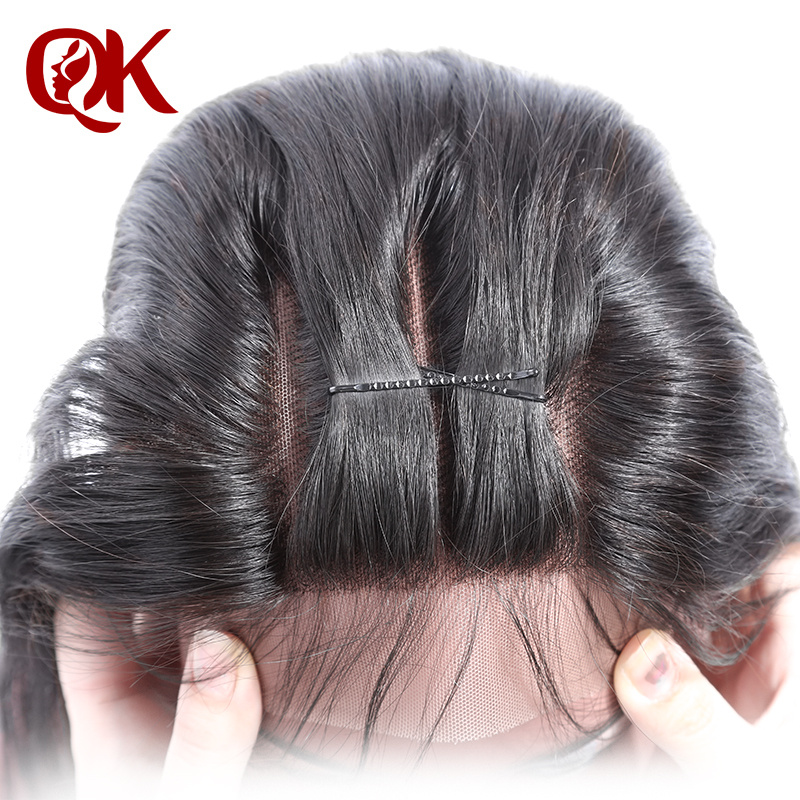 Queenking Hair Brazilian Silky Straight Lace Closure 3