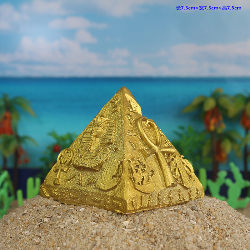 furnishings Egyptian pyramids factory direct selling psychology sand table sand parts resin building model pendulum cathedral