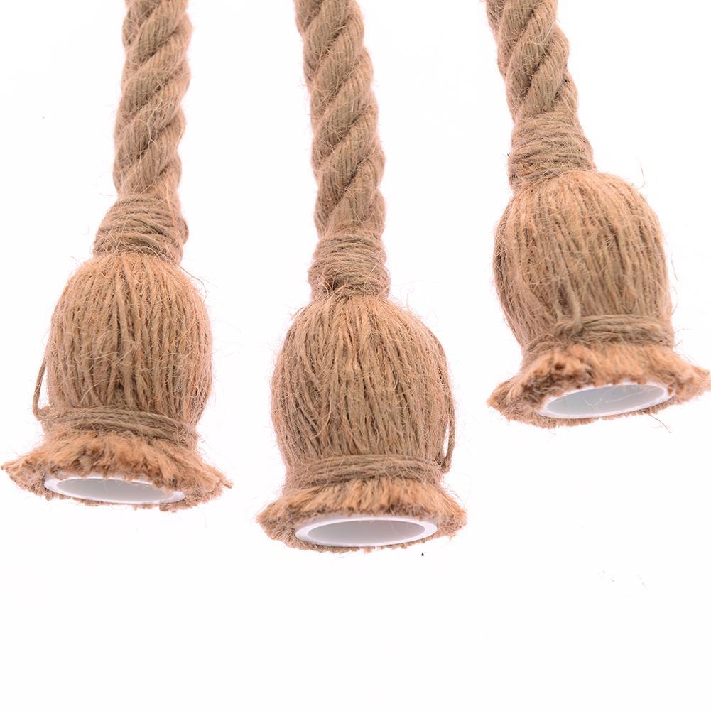 100 мм винтажный пеньковый Канат американский кантри стиль ретро шпагат держатель высокая прочность для E27 подвесной светильник