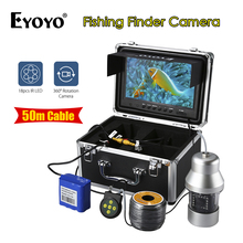 EYOYO Fish Finder HD SONY CCD 50M 1000TVL Underwater Fishing Camera 8GB DVR Fish finder with 50m cable Ice Fishing Camera