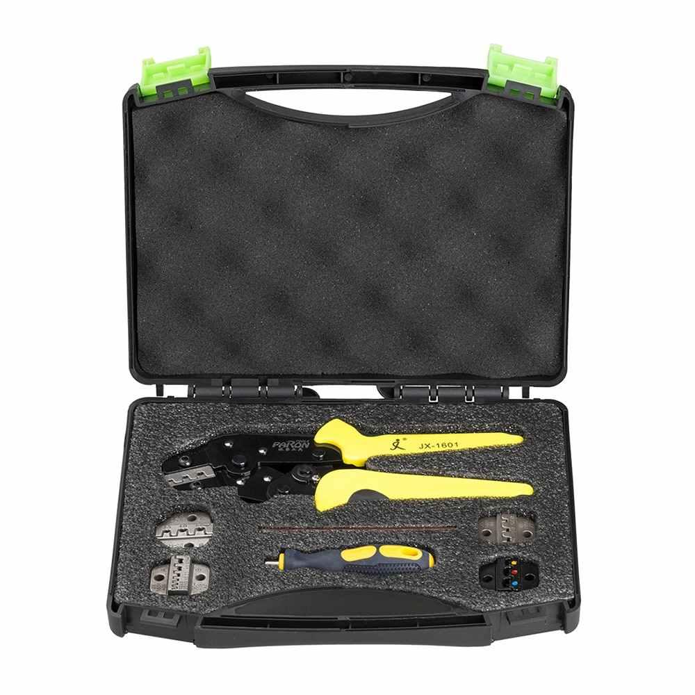 Профессиональный Мультитул, Обжимные щипцы для обжима проводов, инструмент для обжима, концевые клеммы, комплект