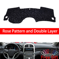 Rose Pattern For Chevrolet malibu 2011 2012 2013 2014 Cover Car Stickers Car Decoration Car Accessories Interior Car Decals