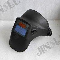 Luz Peso 330g Boa Ventilação Movido A Energia Solar Auto Escurecimento Capacete de Soldagem Máscara De Solda De Solda Vidro Cap Soldador TIG MIG MAG