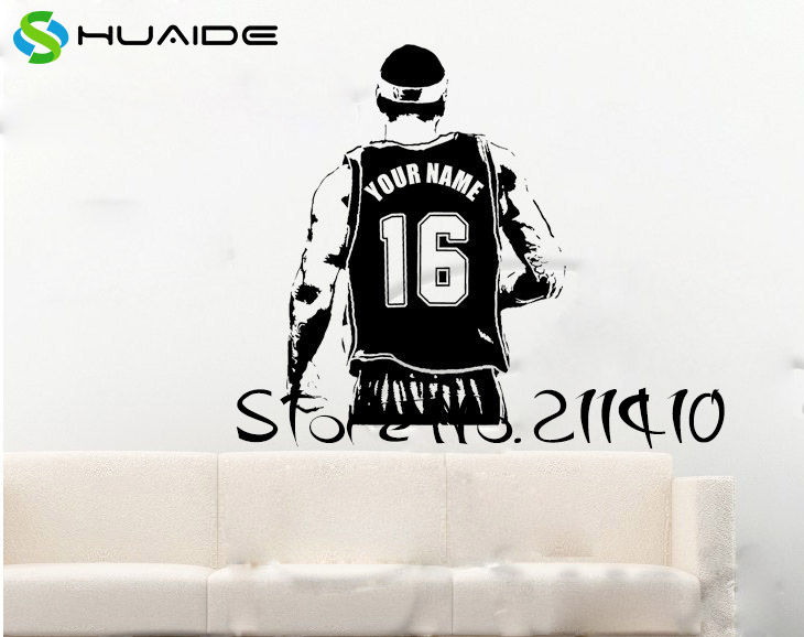 Online Get Cheap Basketball Players Numbers Aliexpresscom - Custom vinyl decals numbers for shirts