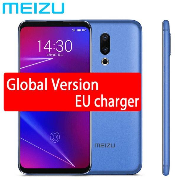 "Original Meizu 16 16X Global 64GB ROM Mobile Phone Snapdragon 710 Octa Core 6.0"" 2160x1080P Full Screen Dual Rear Camera 1"