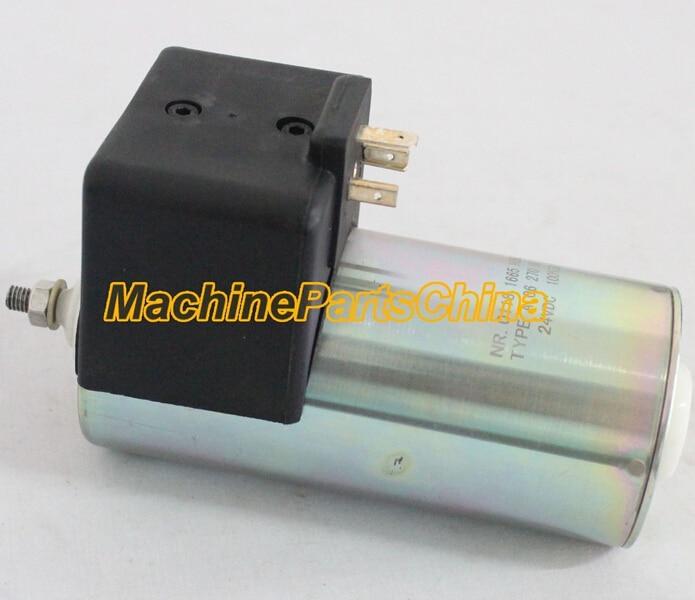Fuel shut off Solenoid 01181665 24V for BF6M1015 BF8M1015 Engine fuel shut off solenoid engine solenoid 612600180175 24v