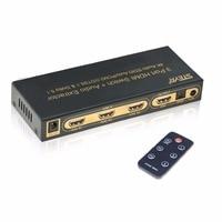 STEYR 4K HDMI Switch 3X1 3 Port HDMI Switch With IR Remote Support 4Kx2K 3D 2160P