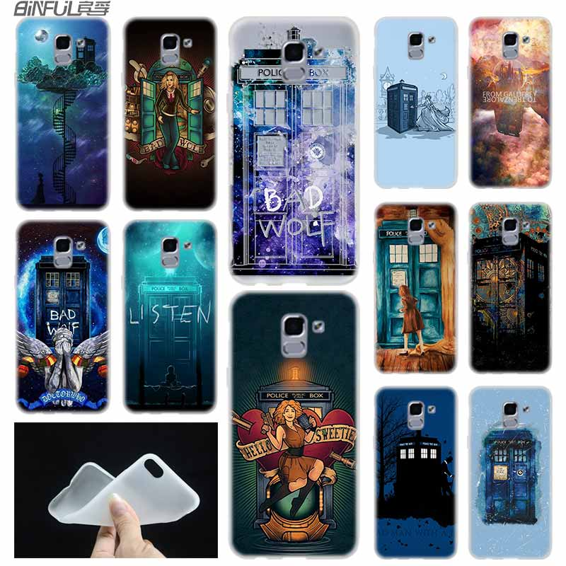 Cellphones & Telecommunications Floral Telephone Box Doctor Who Phone Cases For Samsung Galaxy J4 J5 J6 Plus J2 J3 J4 J8 2018 J5 J7 Prime Hard Cover Cases Coque