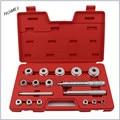 18 unids De Aluminio anillo de rodadura sello monte conjunto de controladores/herramienta/kit
