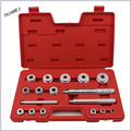 18pcs Aluminum Bearing race seal bush driver set / tool / kit