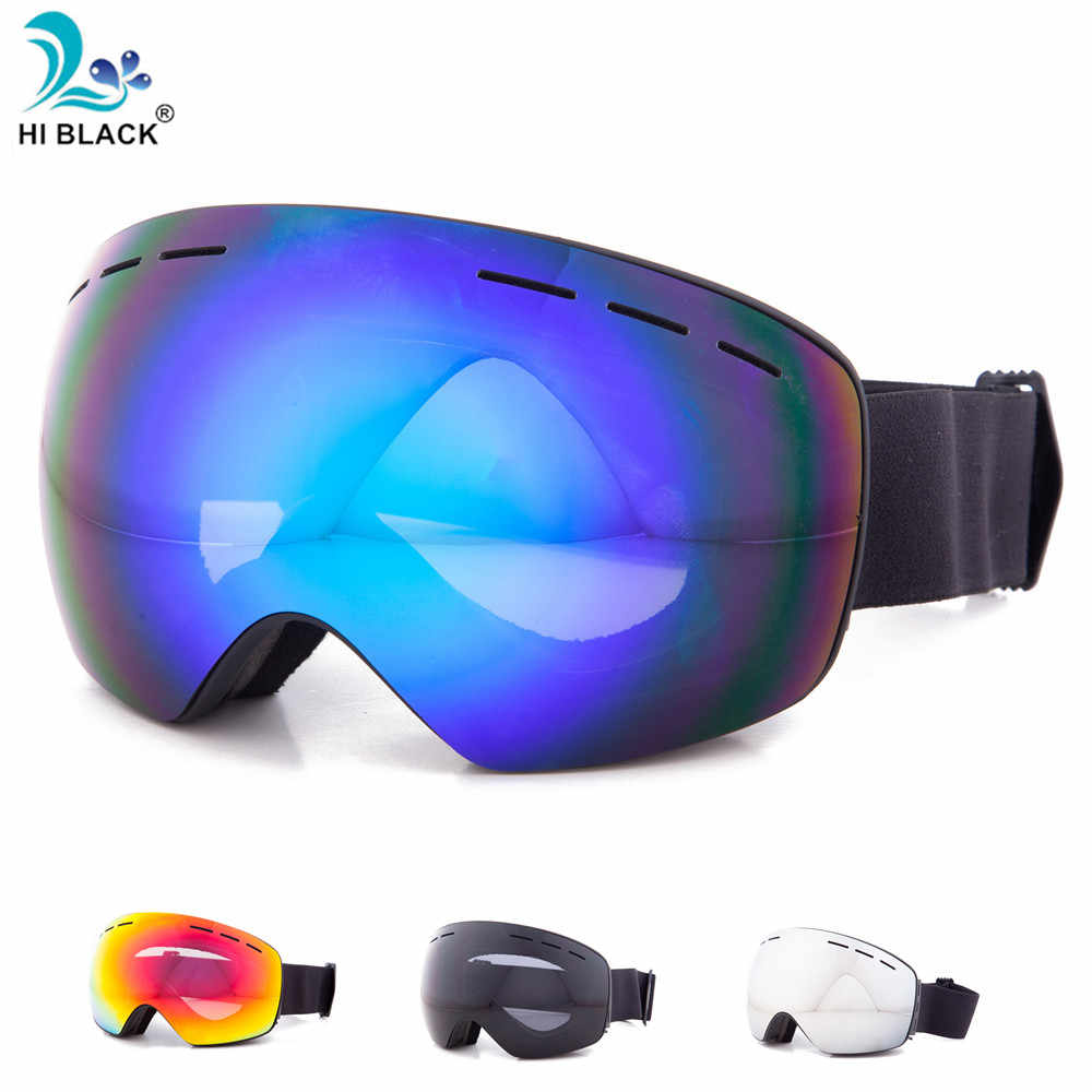 686510dc0bb 2018 New Professional Ski Goggles Snowboard Men Women Double Layers Anti-fog  Skiing Glasses Snow