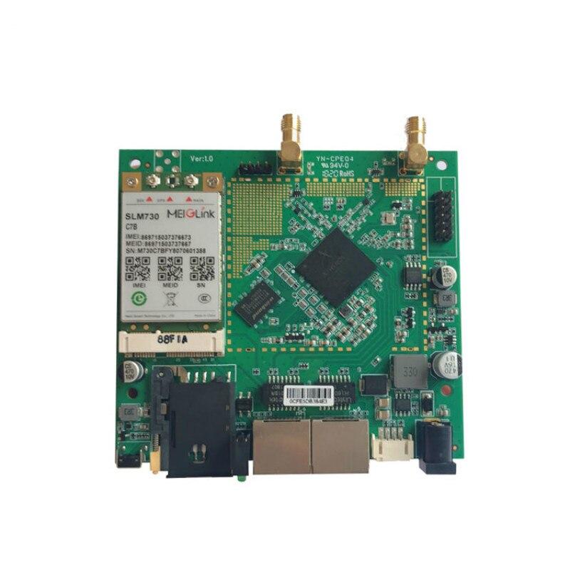 OEM/ODM qualité AR9344 DDR2 64 MB 3G 4G Wifi carte sans fil/PCBA ordinateur fil connecteur rj45