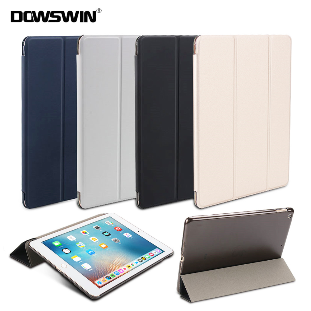 DOWSWIN Case For iPad 9 7 2018 2017 Smart Cover PU Leather Case for iPad 6th