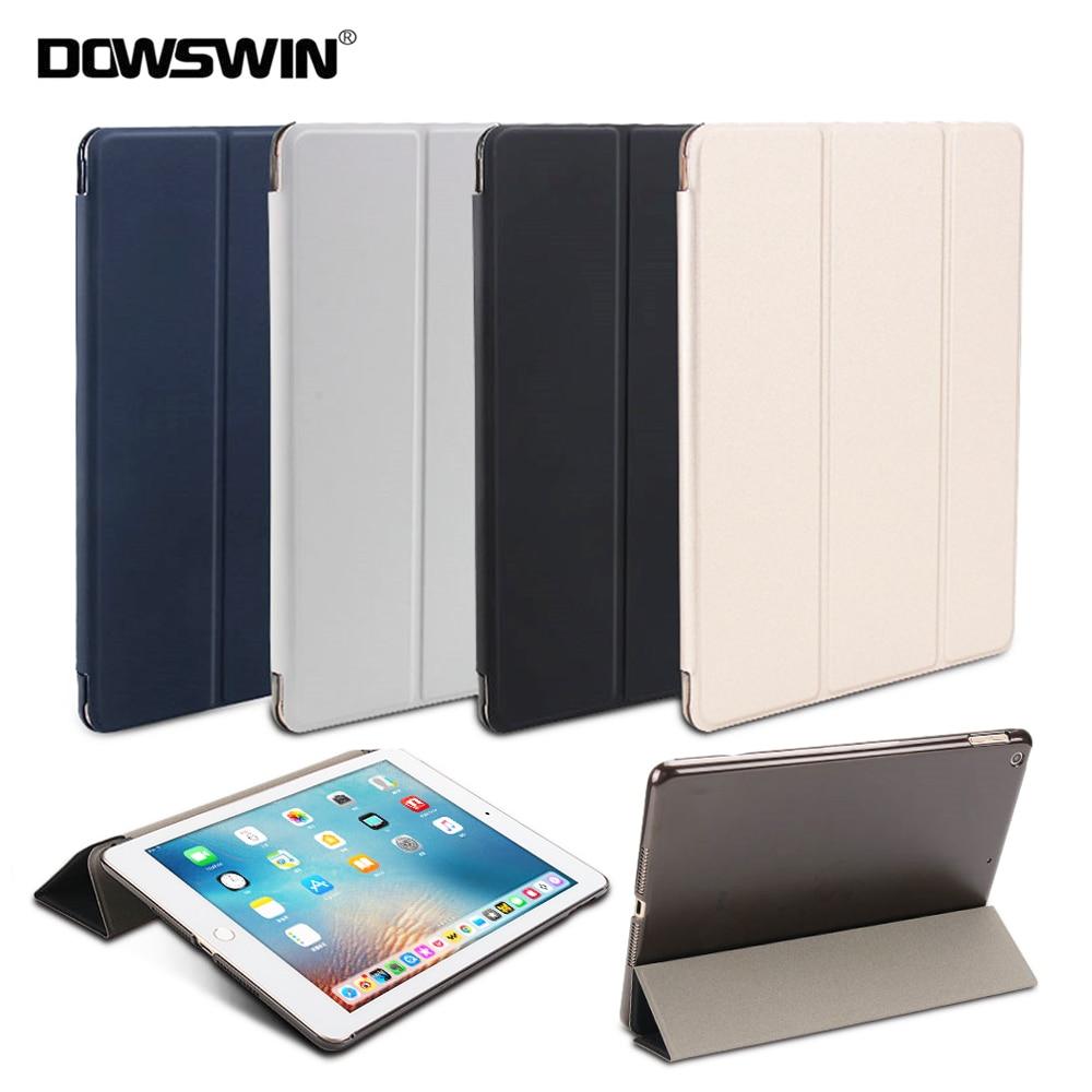 Dowswin Case For Ipad 9.7 2018, For New Ipad 9.7 2017 Sensible Cowl Pu Leather-based Case For Ipad 6Th Era For Ipad 2018 Case