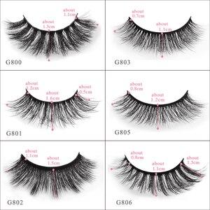 Image 2 - YSDO lashes 5 pairs mink eyelashes natural long 3d mink lashes hand made false eyelashes dramatic eyelashes makeup fake lashes