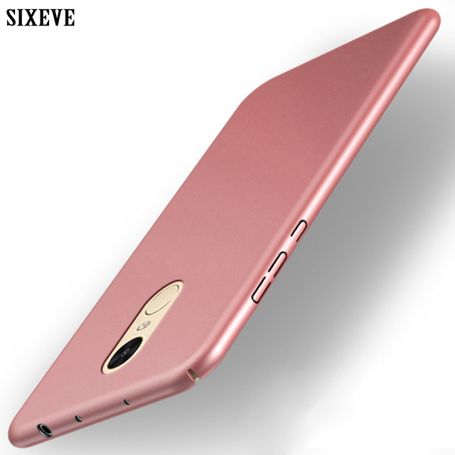 new style 7f2ed cd53c US $2.99 30% OFF|SIXEVE Top Quality Case For Xiaomi Redmi Note 4 Note4  Mobile Phone Cover Ultrathin Hard Plastic PC Matte Back Casing-in Fitted  Cases ...