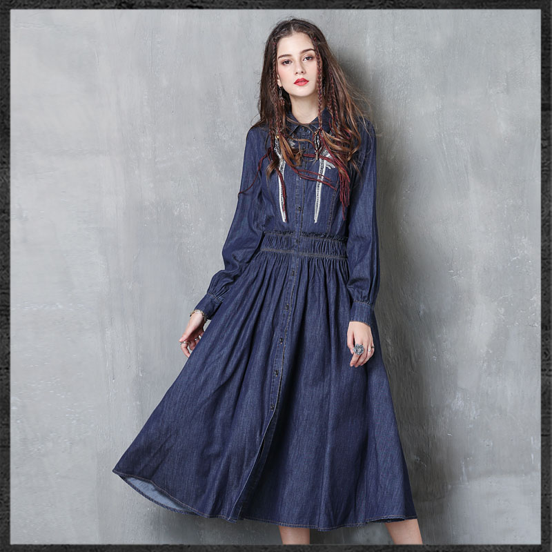 Vintage Dressing Gown: Aliexpress.com : Buy 2019 Autumn Winter Women Embroidered