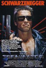 THE TERMINATOR Movie Poster Arnold Shwarzenegger Sci-Fi Print art silk Poster