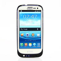 Ultra Slim Portable Backup External Battery Charger Case Power Bank Cover For Samsung Galaxy S3 3200mAh
