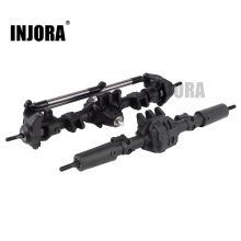 INJORA RC Car Front Rear Straight Complete Axle for 1:10