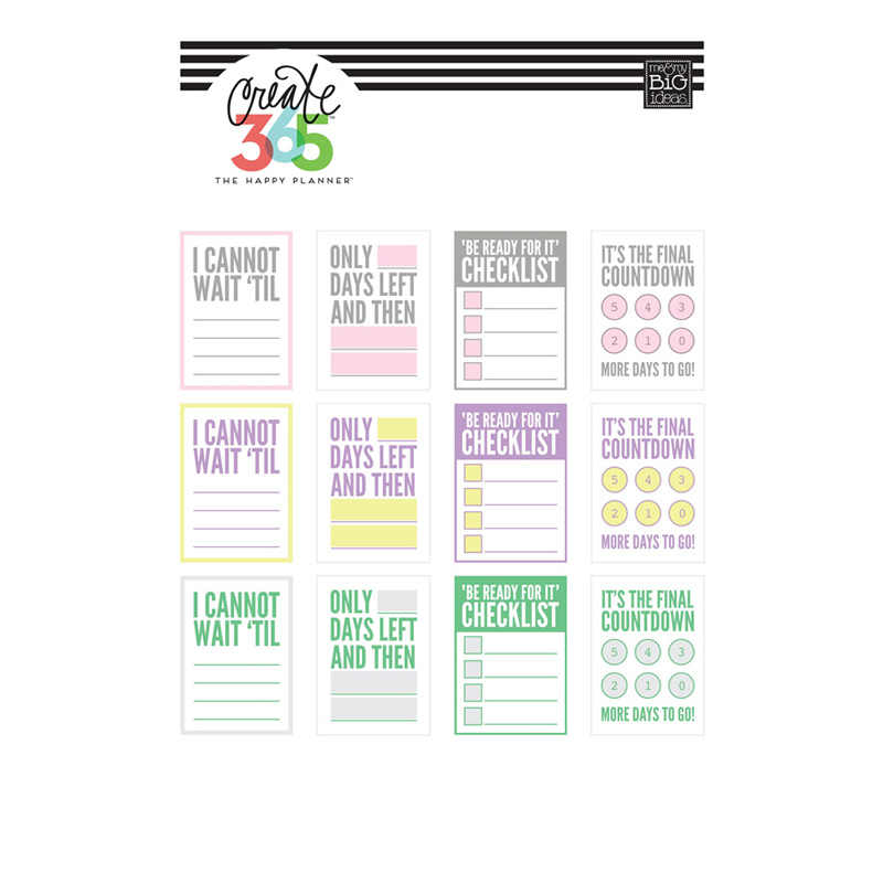 image about Blank Planner named 2 computer systems/great deal Blank Advertisement Label Listing Do it yourself Decoration Uncut Planner Diary Sticker Report It Stationery Sbooking Bullet Magazine Stickers