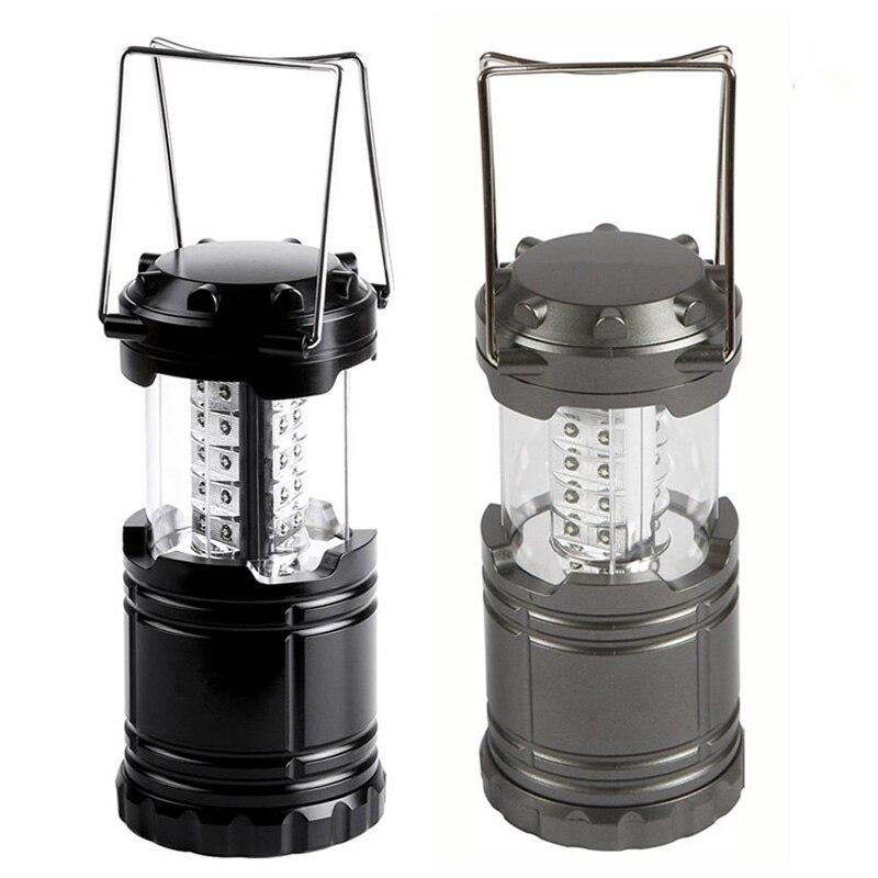 Outdoor Retractable Tent USB Solar Camping Lamp LED Lantern Light For Hiking Emergencies Lighting Folding Lamp --M25