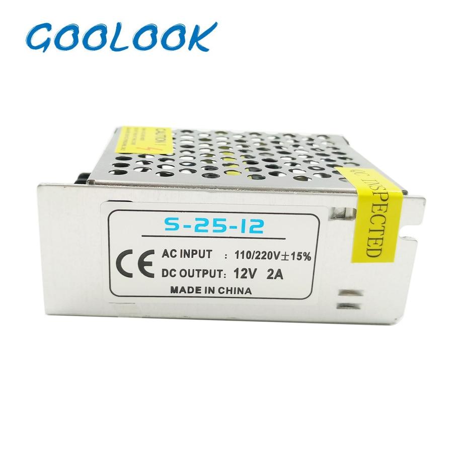 12V LED-transformatorströmförsörjningsströmbrytare Adapter AC - Belysningstillbehör - Foto 6