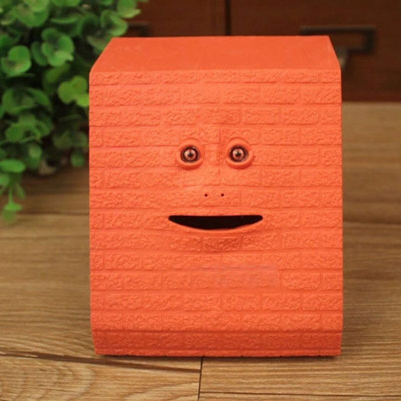 Christmas Safe Box Alcancia Facebank Money Box Chewing piggy bank Hucha Coin Box For Money MONEY BOX Face Bank Gift ...