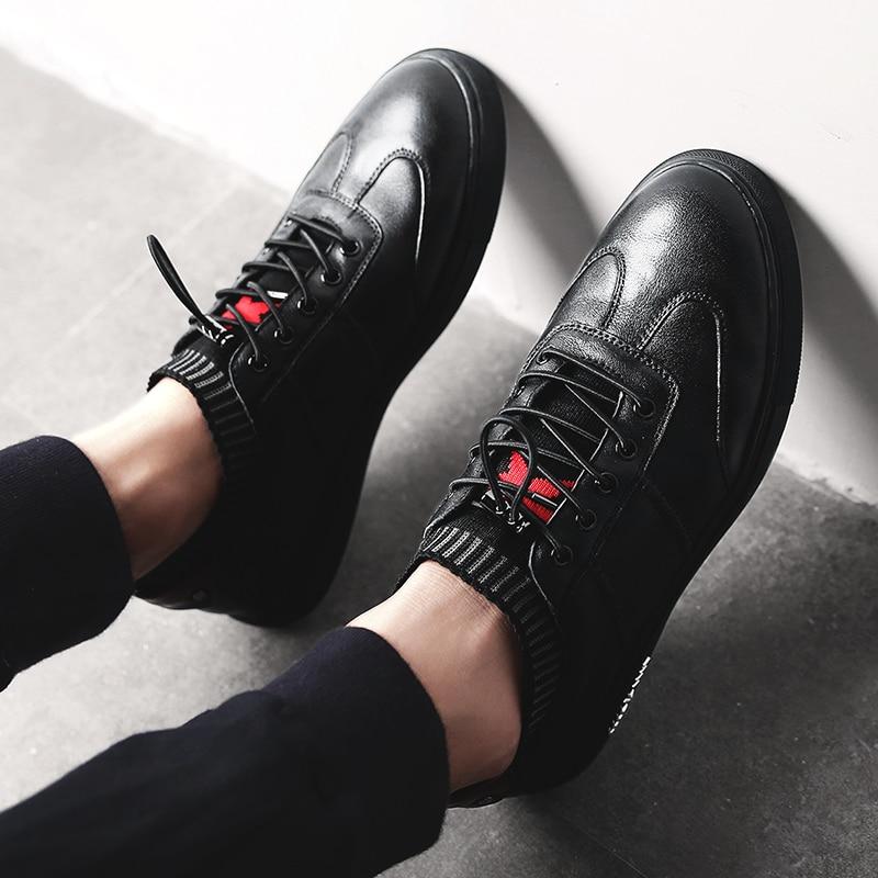 NINYOO Zapatos casuales de los nuevos hombres de la manera Zapatos de - Zapatos de hombre - foto 6