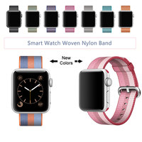 New Arrival Nylon Strap For Apple Watch Band Nylon Band With Built In Adaptor For Apple