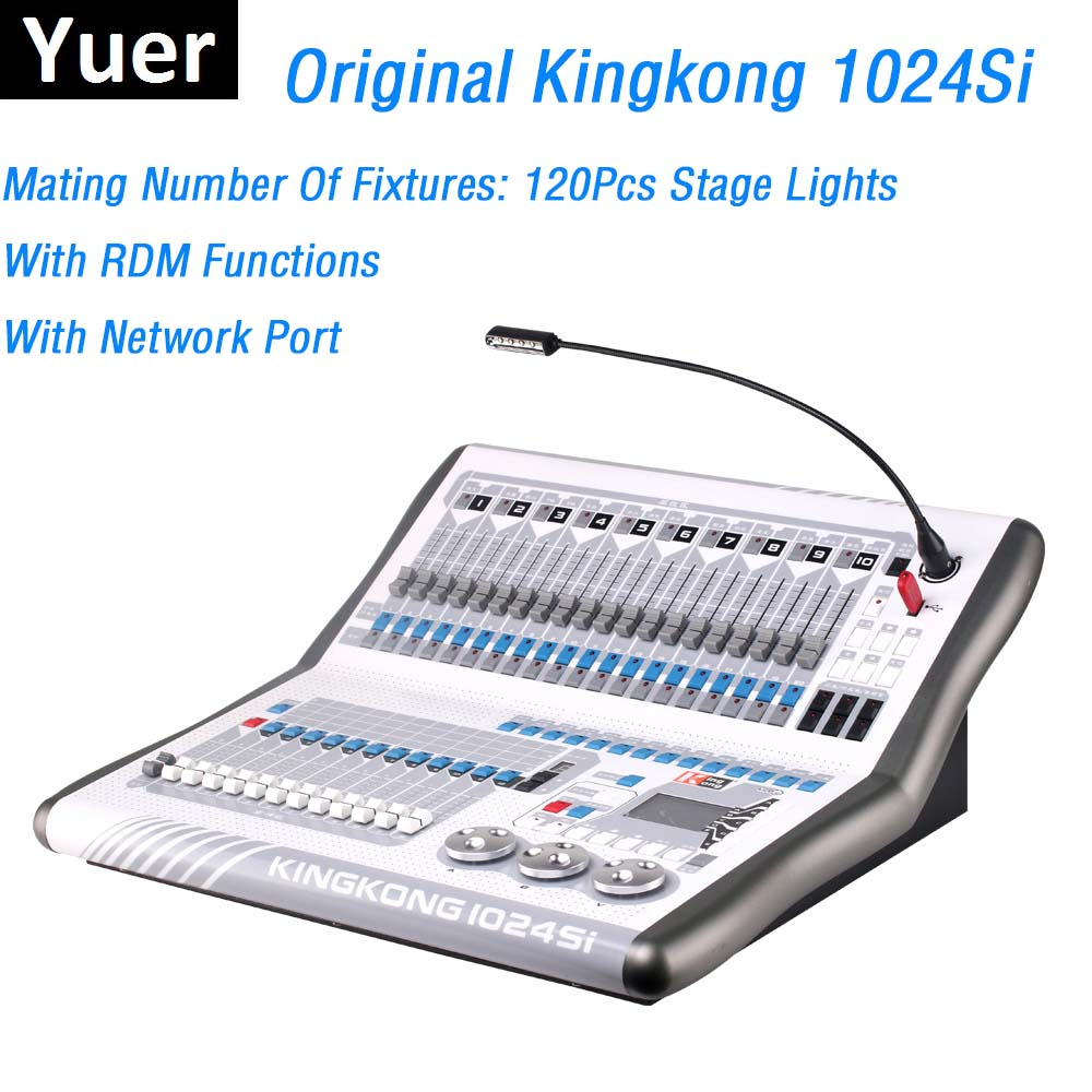 Dj Lighting Equipment King Kong 1024SI DMX Controller Moving Head Lights Console Kingkong DMX512 Computer Stage Light Controller