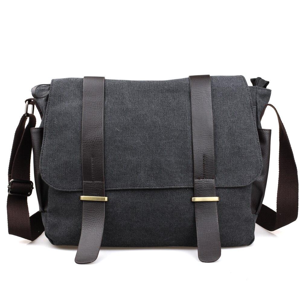 KUNDUI hot sell 2016 men Retro messenger bags high quality men s travel  shoulder bag classical design male canvas wholesale 85f0dc4b15