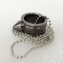 Drop shopping Stainless Steel Self-defense Product Shocker Weapons Ring Survival Ring Tool Pocket Women Self Defense Ring