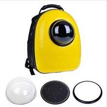 Space Capsule Shaped Pet Carrier  Breathable pet backpack PC pet dog  outside Travel bag portable bag  cat bags  GP160429-3