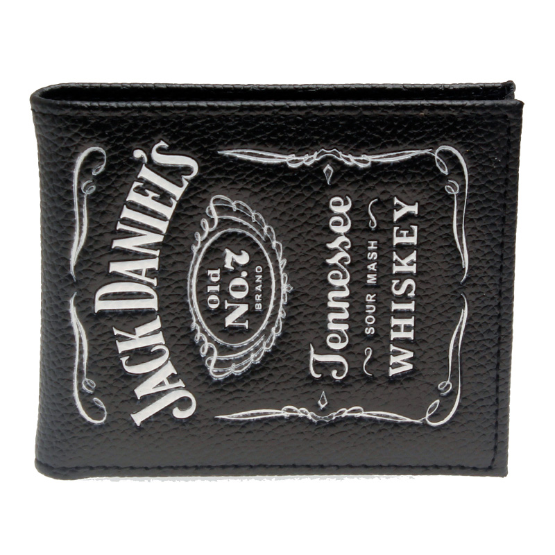 Jack daniels, boys and girls students personality fashion short transverse section 2 fold wallet DFT-1336 point systems migration policy and international students flow