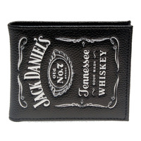 Jack Daniels Boys And Girls Students Personality Fashion Short Transverse Section 2 Fold Wallet DFT 1336