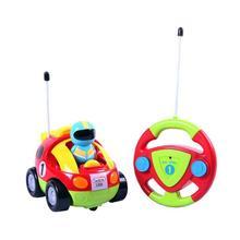 New Authentic Children'S Cartoon Remote Control Car Race Car Hellokitty Doraemon Baby Toys Music Automotive Radio Control RC Car