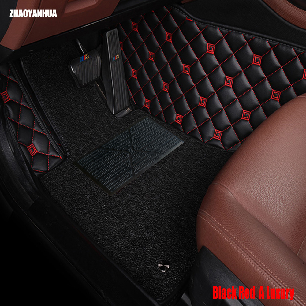 ZHAOYANHUA Car floor mats for Chevrolet Captiva Trax Malibu Cruze accessories 5D car-styling rugs waterproof carpet liners special car trunk mats for toyota all models corolla camry rav4 auris prius yalis avensis 2014 accessories car styling auto