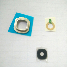Wholesale 10pcs/lot Original Rear Back Camera Glass Lens for Samsung Galaxy J5 J510 Camera Glass Lens Cover Circle + Adhesive