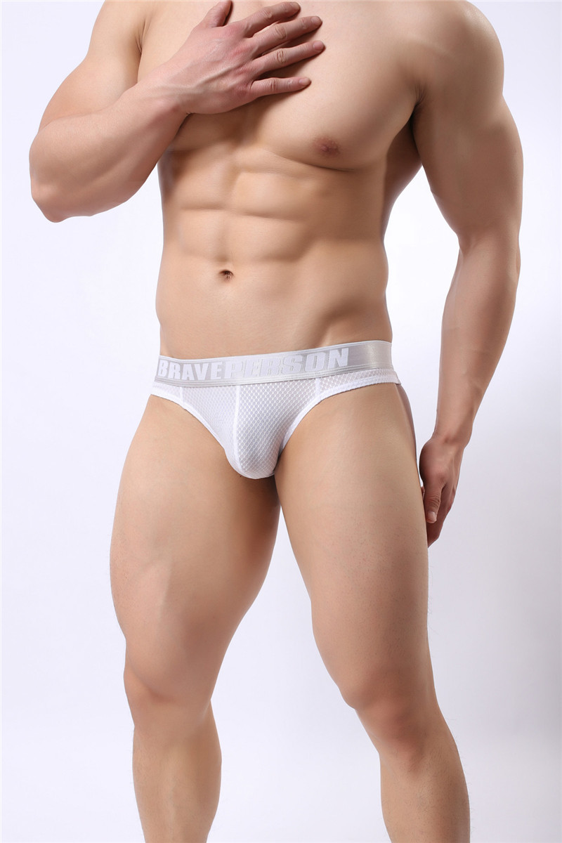 Topdudes.com - Men's Sexy Thin Breathable Low-Waist Comfortable Briefs