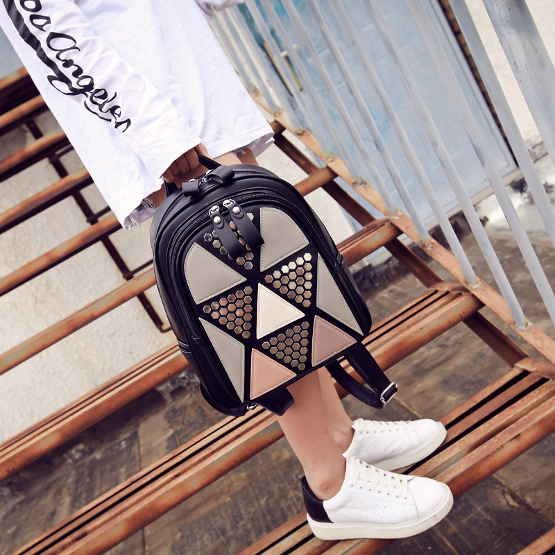 2016 Newest Wave Fashion Backpack Women Casual Dackpacks Backpack School Leisure Travel School Bags Women's Shoulder Bags Bolsos new fashion women backpack newest