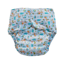 Adult Cloth Diapers (10 Pieces A lot)Washable Microleece Pocket Adult Cloth Nappy + (4) Layers Audlt Microfiber Inserts Liners
